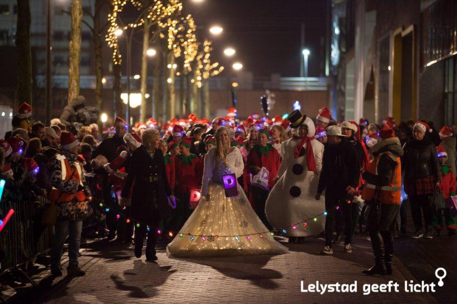 Lichtjesparade Lelystad
